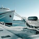 Ship in the Docks