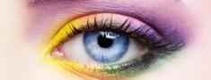 woman eye zone make up